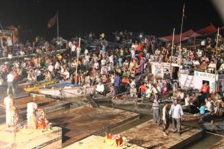 160926 50 Varanasi - Ganga Aarti