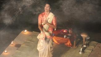 160926 63 Varanasi - Ganga Aarti