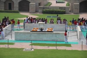 160929 059 Delhi - Raj Ghat Ghandi's Memorial