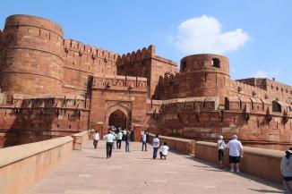 161001 020 Agra - Agra Fort - Amar Singh Gate 2 of 3