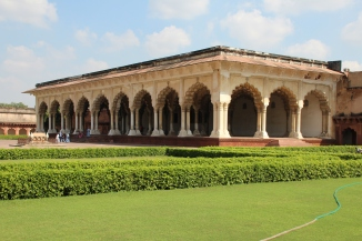 161001 039 Agra - Agra Fort - Diwan-E-Aam (Hall of Public Audience)