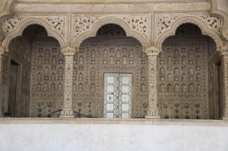 IMG_2614 Agra - Agra Fort - Diwan-E-Aam (Hall of Public Audience)