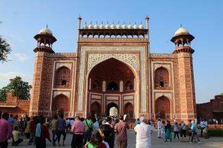 IMG_2712 Agra - Taj site - Darwaza-i-ravza (The Great Gate)