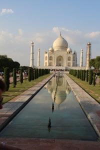 IMG_2740 Agra - Taj site - Taj Mahal & reflecting pool