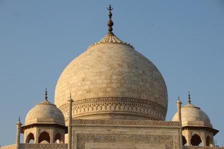 IMG_2762 Agra - Taj site - Taj central dome
