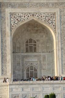 IMG_2763 Agra - Taj site - Taj Pishtaq