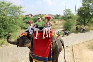IMG_3117 Jaipur - John & Ivana on elephant
