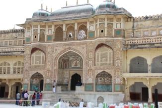 IMG_3206 Jaipur - Amber Fort - Ganesh Pol (Elephant Gate)
