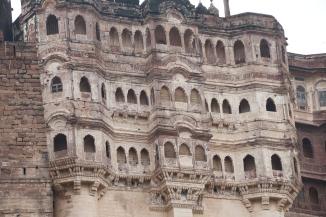 IMG_3519 Jodhpur - Mehrangarh Fort facade