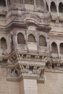 IMG_3521 Jodhpur - Mehrangarh Fort facade