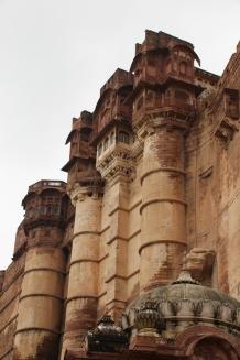 IMG_3523 Jodhpur - Mehrangarh Fort facade
