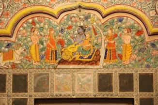 IMG_3604 Jodhpur - Mehrangarh Fort - Sheesh Mahal (Hall of Mirrors)