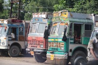 IMG_3788 Jodhpur - Decorated TATA trucks
